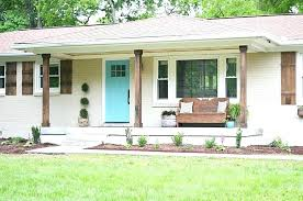 ranch style home paint ideas exterior