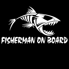 Boat Truck Fishing Stickers Cross Outdoor Gear