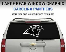 Carolina Panthers Window Decal Graphic Sticker Car Truck Suv Choose Size Ebay