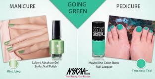 ten manicure pedicure pairings to wow you