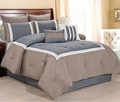 new luxurious 8 piece quilted comforter