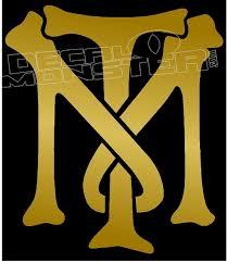 Tony Montana Logo Scarface Decal Sticker Decalmonster Com
