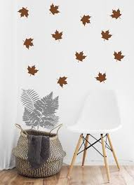 Maple Leaf Wall Decals Wall Stickers Etsy
