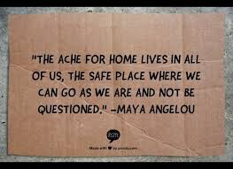 inspirational quotes that remind us to comfort in our homes