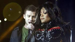 Image result for justin and janet super bowl halftime show