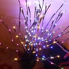 Đèn LED Có Đèn Nhánh Chiếu Sáng Cành Cây Liễu Chi Nhánh Hoa Đèn Pin Hoạt  Động Nhà Đảng Bình Hoa Giáng Sinh Trang Trí Halloween|