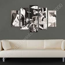 Guernica By Pablo Picasso Poster Or Wall Sticker Decal 5 Panels Wall Art Ebay