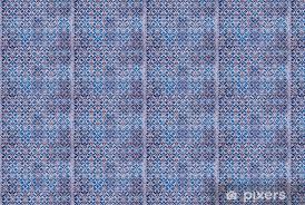 ancient iznik tiles with fl pattern