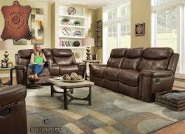 softie driftwood reclining sofa