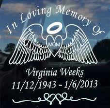 In Loving Memory Of Personalized Heart With By Jococustomvinyl In Loving Memory Memories Loving Memory Car Decals