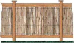 How To Make Bamboo Fencing Bamboo Fence Bamboo Privacy Fence Backyard Fences