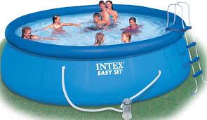 Bể bơi phao 5m49*1m22 có máy lọc nước INTEX 28176