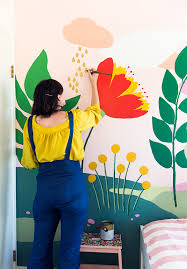 How To Paint Wall Murals For Kids 10 Easy Diy Projects The Budget Decorator