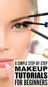 step by step makeup tutorials for beginners
