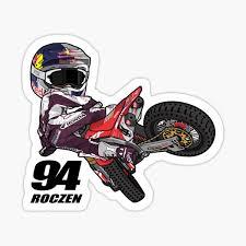 Motocross Stickers Redbubble
