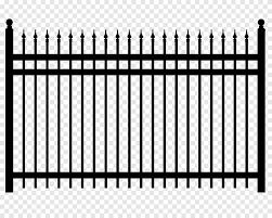 Fences Ornament Black Metal Fence Png Pngegg