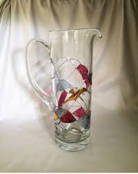 romania milano crystal martini pitcher