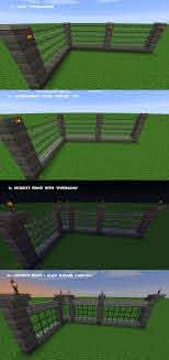 Minecraft Jurassic Park Style Fences Variants By Gothic Lycan On Deviantart
