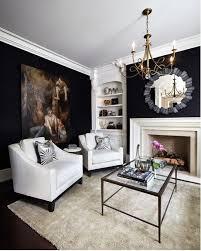 fireplace for my black breakfast room