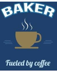amazing savings on baker fueled by coffee journal blank sketch