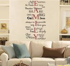 Family Words Wall Decals Trading Phrases