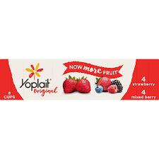 yoplait original yogurt variety pack