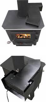 universal heat reclaiming wood stove