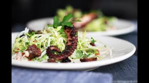 Grilled Octopus Salad – Andrew Zimmern