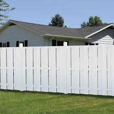 75 Fence Designs Styles Patterns Tops Materials And Ideas Fence Design White Vinyl Fence Vinyl Fence Panels