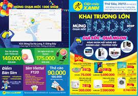 Khai trương siêu thị Điện máy XANH Giếng Đáy, Hạ Long, Quảng Ninh ...