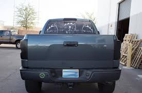 Toyota Tundra Rear Window Decals Grim Reaper Racerx Customs Truck Graphics Grilles And Accessories
