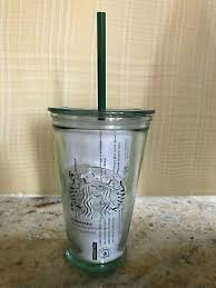 new 2019 starbucks recycled glass cold