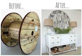 15 diy wood wire spool furniture ideas