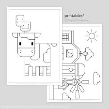 Boerderij Printable Kleurplaten Tekeninstructies