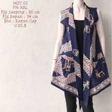 Baju atasan batik sangat digemari mengingat keberadaan batik yang menjadi kebanggaan nasional. Batik Bagoes Solo Toko Batik Online Terpercaya Model Baju Wanita Rompi Wanita Model Pakaian