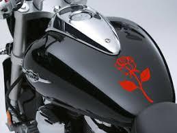 Rose Motorbike Fuel Tank Sticker Car Decal 100mm X 170mm Ebay