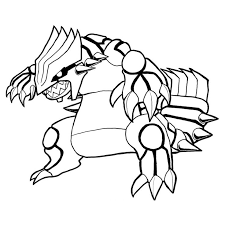 Groudon Coloring Page At Getdrawings Free Download