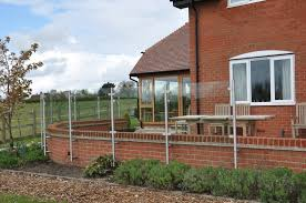 White Metal Balustrade And Railing Systems Windbreaks White Metal Balustrade And Railing Systems