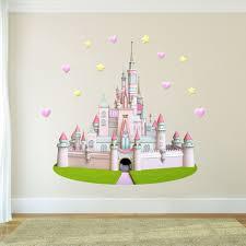 Zoomie Kids Cute Princess Castle Wall Decal Wayfair