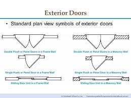 door plan sliding doors
