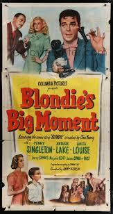 Blondie's Big Moment (1947) Stars: Penny Singleton, Arthur Lake ...