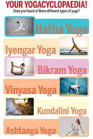 diffe types of yoga benefits