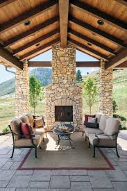 top 60 best patio fireplace ideas