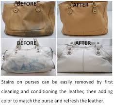 clean leather purse leather purse
