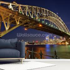 sydney harbour bridge mural wallsauce au