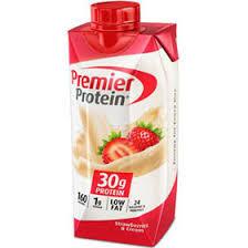premier protein strawberries cream