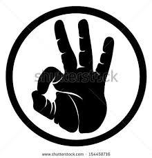 Okay Human Hand Sign Ok Hand Symbol Ok Hand Sign Hand Symbols Ok Hand Sign Symbol Drawing
