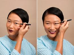 makeup tips for chinese eyes cat eye
