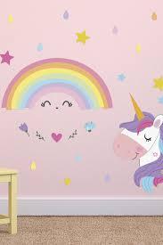 Walplus Magical Unicorn Rainbow Wall Stickers Hautelook