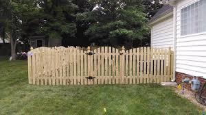 Convex Picket Fence Mechanicsville Va Fence Scapes Llc